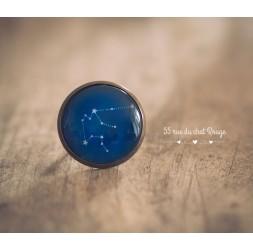 Damenhandwerklicher Ring, Sternbild, Sternzeichen, Sternzeichen