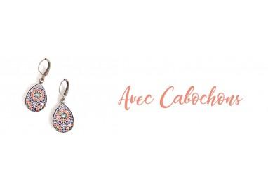 Cabochon Ohrringe